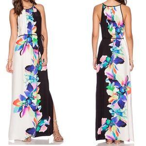 Amanda Uprichard Perry Maxi Dress Bali Flower SP